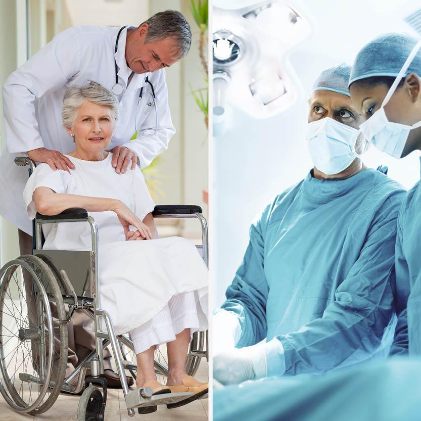 Les différentes applications en Établissements de Santé
