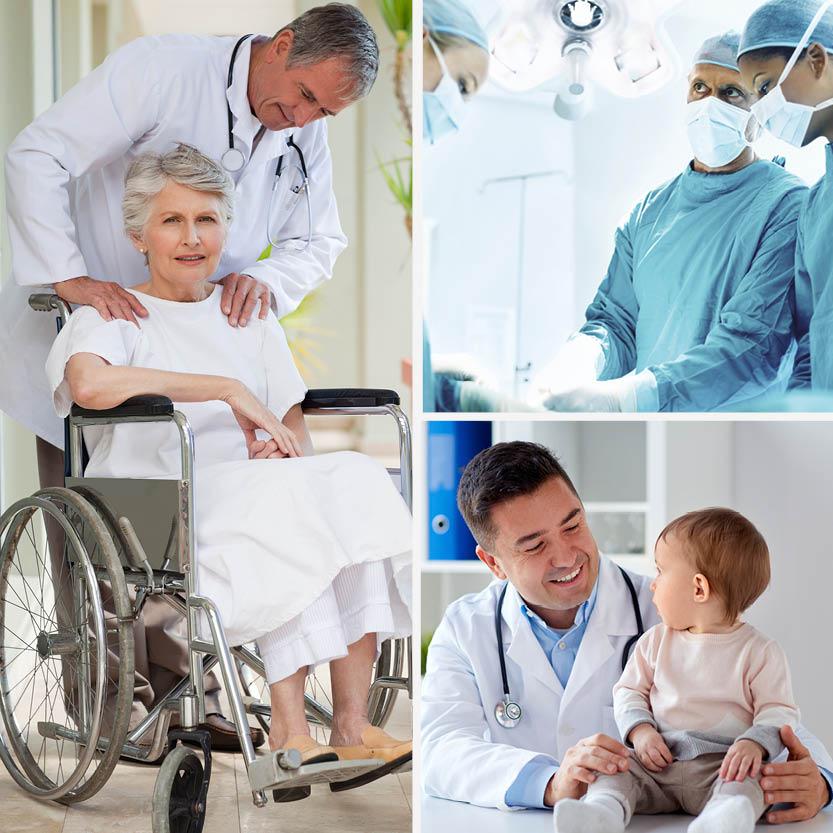 Nos solutions pour Établissements de Santé