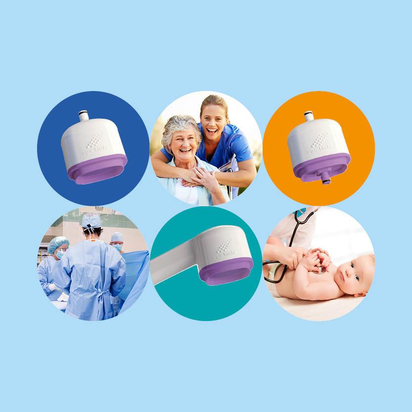 FILT'RAY : l'innovation technologique des filtres anti-légionelles et anti-tous germes pour une durée allant jusqu'à mois