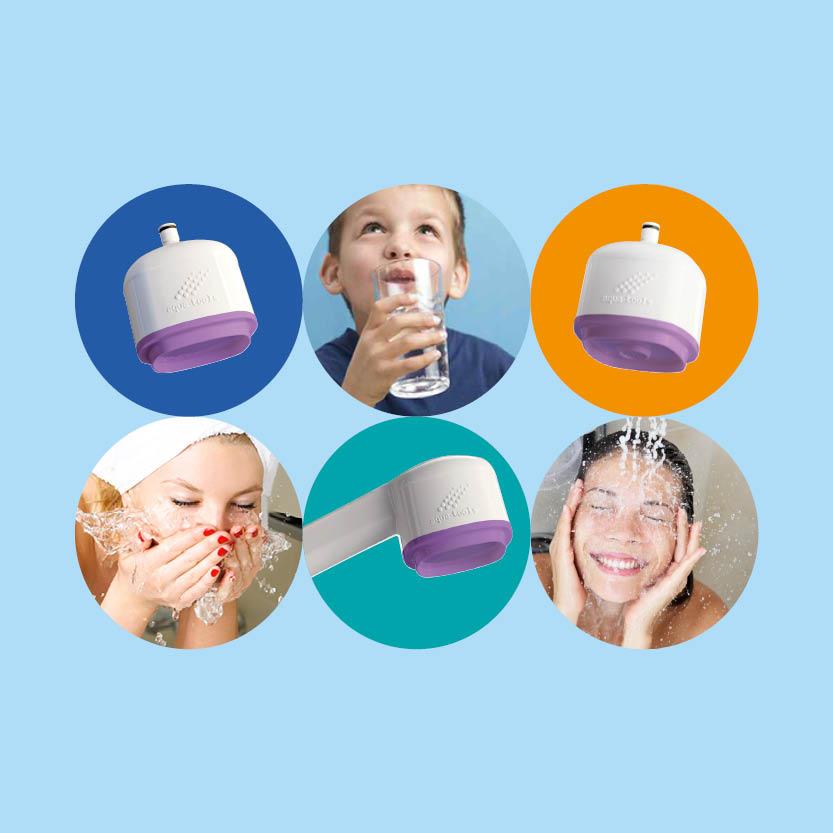 L'innovation technologique des filtres anti-légionelles et anti-tous germes pour une durée de 1, 2, 3 et 4 mois.