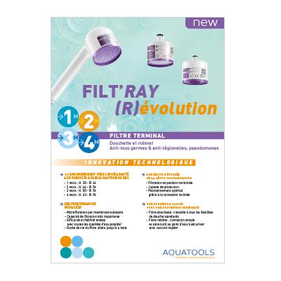 Nouvelle gamme de filtres terminaux FILT'RAY